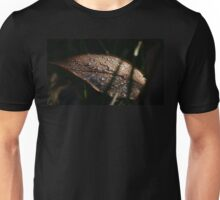 Water Droplets on a Leaf Unisex T-Shirt