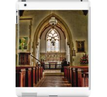St Mary The Virgin Stowting iPad Case/Skin