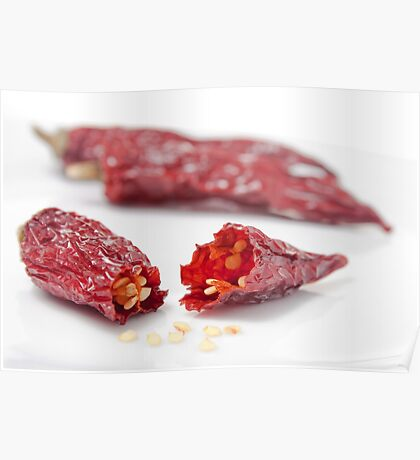 Dried Chillies #1 Poster