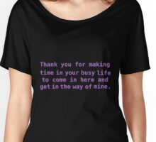Anya's thankyou Women's Relaxed Fit T-Shirt