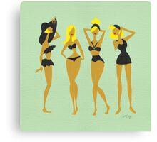 Blonde Bombshells Canvas Print