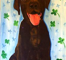 Chocolate Lab by Mobooksnart