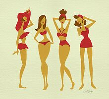 Brunette Beauties by Cat Coquillette