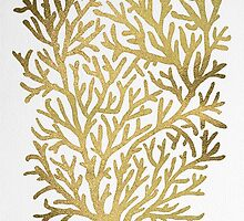 Gold Coral by Cat Coquillette