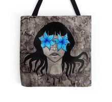 Blue Lily, Lily Blue Tote Bag