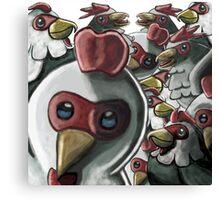 Cuccos Attack Canvas Print