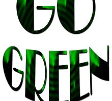 GO GREEN-Save the nature/ Cases, Pillows & Totes,Clothing & Stickers by haya1812