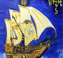 pirate ship by Maureen Zaharie