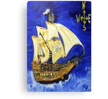 pirate ship Canvas Print