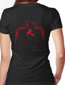 Aura Gouki kanji Ten Womens Fitted T-Shirt