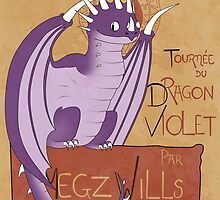Tour of the Purple Dragon by MegzWills