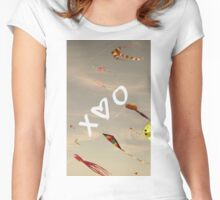 XO Kites Women's Fitted Scoop T-Shirt