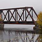 Railroad bridge 1 by Carolyn Clark