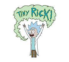 Tiny Rick Photographic Print