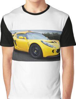 Yellow Lotus Graphic T-Shirt