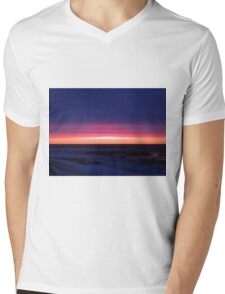 Sublime Seaside Sunset Mens V-Neck T-Shirt