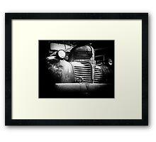 Old Dodge truck Framed Print