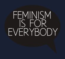 Feminism is for everybody Kids Tee