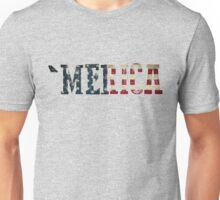 'Merica Text  Unisex T-Shirt