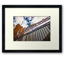 Shankly Gates - Anfield Framed Print