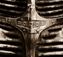 Old Dodge truck Sticker