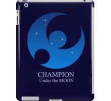 Champion under the MOON iPad Case/Skin