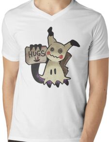 Mimikyu Mens V-Neck T-Shirt