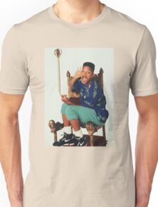 Fresh Prince of Bel-Air Sitting On Chair Unisex T-Shirt