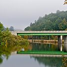 Interstate bridge by Carolyn Clark