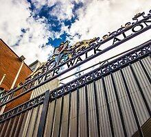 Liverpool FC - Shankly Gates by Paul Madden