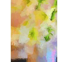 Abstract Lilies in a Vase Photographic Print