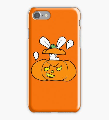 Jack O Lantern Bunny iPhone Case/Skin