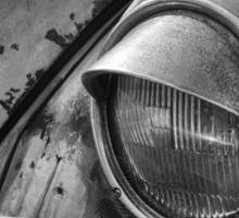 Tired VW Beetle Sticker