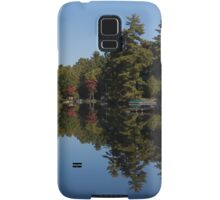 Lakeside Cottage Living - Reflecting on Relaxation Samsung Galaxy Case/Skin