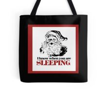 Creepy  Santa Tote Bag