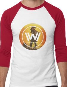 westworld Men's Baseball ¾ T-Shirt