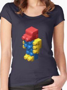 3D Robot Women's Fitted Scoop T-Shirt