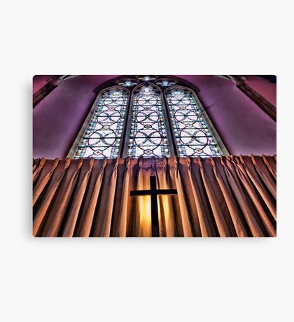East End St Mary's Church, Kingsclere Canvas Print