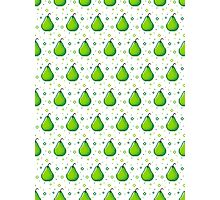 Pixel Fruits - Pear Edition Photographic Print