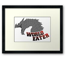 World Eater Framed Print