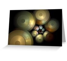 Flying Saucers Arise Greeting Card