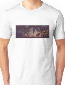 Island Life Sunset Unisex T-Shirt