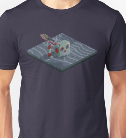 Attack of the Submarine Tin Robot Unisex T-Shirt