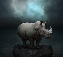 Power Is No Blessing In Itself (Protect the Rhino)  by soaringanchor