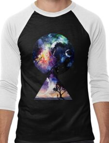 Galaxy - We are all Made of Star Stuff Men's Baseball ¾ T-Shirt
