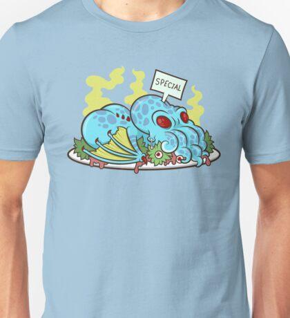 Cthulhu Dinner Unisex T-Shirt