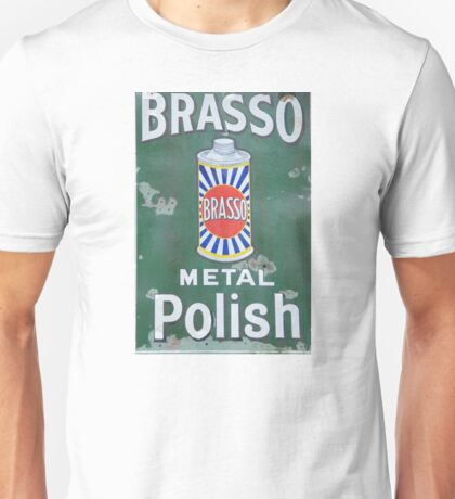 Brasso Metal Polish old signage Unisex T-Shirt