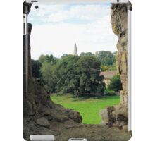 Quintessentially England -31- Castle View iPad Case/Skin