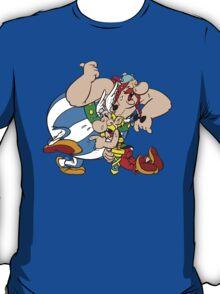 Asterix Obelix Cartoon Funny T-Shirt