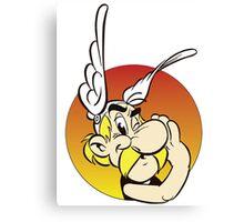 Asterix Cartoon Funny 2 Canvas Print